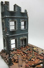 1/35 Scale ~ Battle Damaged City Corner Military model diorama