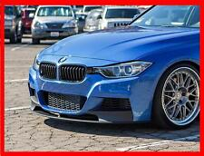BMW 3 F30 F31 M TECH PERFORMANCE look FRONT SPLITTER / SPOILER , SKIRT !! NEW !!