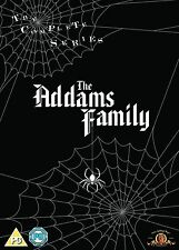 THE ADDAMS FAMILY SERIES 1-3 COMPLETE DVD BOX SET NEW