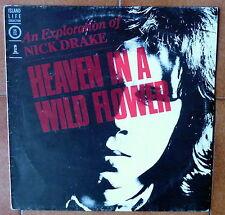 NICK DRAKE DISCO LP 33 GIRI HEAVEN IN A WILD FLOWER - ITA ISLAND ORL 19826