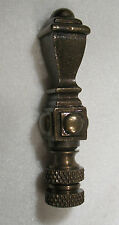LAMP FINIAL Bronze Metal  Square Spindle (642)