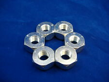 M35A2 2.5 TON 6 RIGHT HAND FRONT LUG NUTS M35 ROCKWELL M109 MILITARY TRUCK