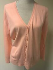 BHS Women Cardigan Peach Knit Size 14 (7)