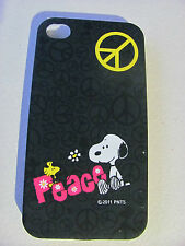 Coque Housse Etui SNOOPY PEACE Pour IPhone 4 4S