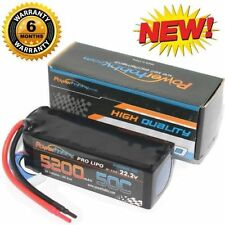 Powerhobby 6S 22.2V 5200mAh 50C Lipo Battery 6-Cell : 1/8 Buggy Truggy