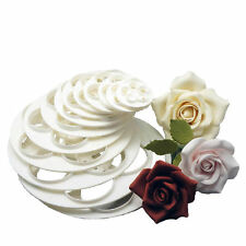 Fondant Mold Cake Sugarcraft Rose Flower Decor Cookie Gum Paste Cutter Tool DIY