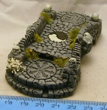 Painted stone bridge 28mm Fantasy, historical and science fiction scenery