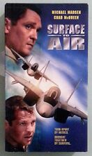 michael madsen  SURFACE TO AIR  chad mcqueen   VHS VIDEOTAPE