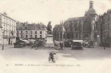 Le Monument De Duquesne Et L' Eglise Saint Jacques, DIEPPE, France LL