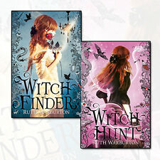 Witch Finder Collection Ruth Warburton 2 Books Set Pack Witch Hunt NEW PB