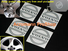 "4x 2.2"" 5.5cm55mm VOLVO cap Decal Sticker center wheel hub alloy rim 240 740 960"