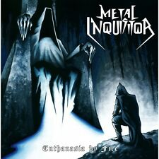 "METAL INQUISITOR - Euthanasia by Fire 7"" (NEW*LIM.BLACK VINYL+POSTER*KIT LIVE)"