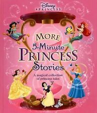 Disney Princess More 5-Minute Princess Stories c2003 VGC Hardcover