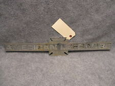"American LaFrance Fire Truck Emblem Name Plate 23-3/8"" OEM Needs Rechromed 28031"