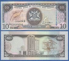 Trinidad and Tobago 10 Dollars P 48 2006 UNC Low Shipping! Combine FREE!