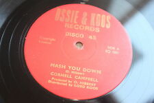"♫ OSSIE AND KOOS CORNELL CAMPBELL MASH YOU DOWN  ROOTS REGGAE 12"" LISTEN"