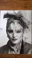 """Rare Early 80s Madonna 7""""x9"""" Black And White Photograph"""