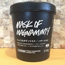 LUSH KITCHEN JAPAN * MASK OF MAGNAMINTY 315g * FACE & BODY SCRUB SHIPS FREE