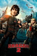 How to Train Your Dragon 2 : One Sheet - Maxi Poster 61cmx91.5cm (new & sealed)