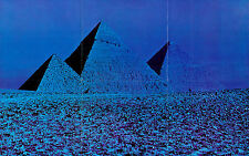 Framed Print - Pink Floyd Dark Side of the Moon Pyramids (Abstract Picture Art)