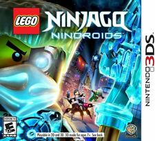 LEGO Ninjago: Nindroids USED SEALED Nintendo 3DS 3 DS 2 2DS