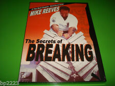 "MARTIAL ARTS The Secrets of ""BREAKING"" with 10X World Champion Mike Reeves DVD"