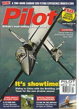 PILOT,   APRIL, 2013  ( BRITAIN'S BEST - SELLING GA MAGAZINE ) IT'S SHOWTIMES !