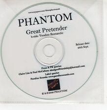 (GI274) Phantom, Great Pretender - 2009 DJ CD