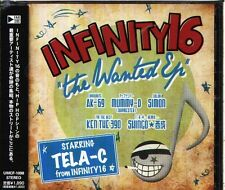 INFINITY16 - THE WANTED EP - Japan CD OBI J-POP - 11Tracks