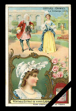 Old Victorian Trade Card: Antique Original LIEBIG Early 1900's