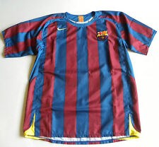 Barcelona Home football shirt 2005/2006 Camiseta Ronaldinho 10 size XL