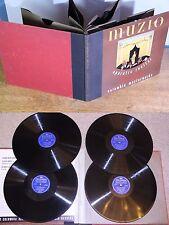 """78 ALBUM 4/4 Records 12"""" 1940s Claudia Muzio """"Operatic Recital"""" COLUMBIA E"""