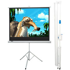 "MaxStar 84"" Portable Folding Tripod Projector Screen Format 4:3 (63""x 47"")"