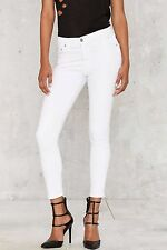 NWT CITIZENS of HUMANITY ROCKET OPTIC WHITE HIGH RISE CROP SKINNY JEANS 30