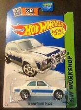 Hot Wheels CUSTOM Super Hunt 70 Ford Escort RS1600 with 5 Spoke Real Riders
