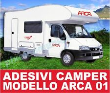 KIT ADESIVI CAMPER ARCA 01 STICKERS TUNING