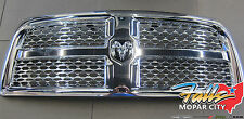 2013-2016 Dodge Ram 2500 3500 4500 5500 Chome Honeycomb Grille with Emblem Mopar