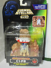 Star Wars - R2-D2 C1-P8 F/X (Power of the Force) Rare Tonka Italian Packaging