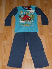 ANGRY BIRDS  Schlafanzug Schlafi Pyjama - Gr. 128