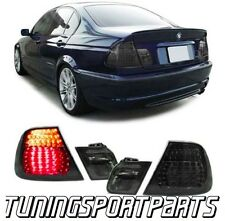 REAR LED TAIL LIGHTS SMOKE FOR BMW E46 98-01 SERIES 3 SALOON LAMP FANALE
