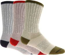 Catawba Set of 3 Merino Wool Blend Boot Socks   Large