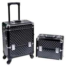 Trolley Suitcase Box Nai Art Make Up Beauty By Songmics-New -Free Delivery