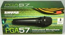 New! Shure PGA57 Dynamic Cardioid Instrument Microphone Mic w/ Clip Bag & Cable