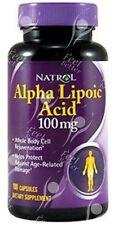 Glutathione Enhancer - Alpha Lipoic Acid 100mg x100cap