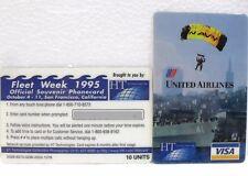 Coca-Cola - FLEET WEEK 1995 - OFFICIAL PHONECARD-SAN FRANCISCO-PUZZLE 2di 3