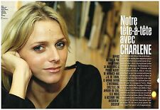 Coupure de presse Clipping 2006 (6 pages) Charlène Wittstock