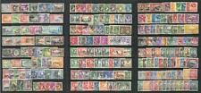 GVI C/W Used Stamp Lot. Misc countries, Part sets etc.