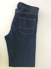 "Hugo Boss Arkansas Men's Jeans, W32"" L34"" Dark Denim Blue, Vgc Slim"
