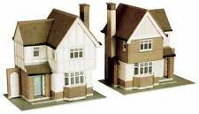2 Detached Houses - Superquick B23 - OO Building Card kit - free post