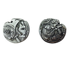 """Norse Foundry RPG D20 Adventure Coins """"25"""" Silver Piece Set of 10 - Sci-Fi  Star"""